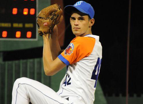 Yankiel Mauri se apuntó su cuarto juego salvado de la joven campaña cubana de béisbol.