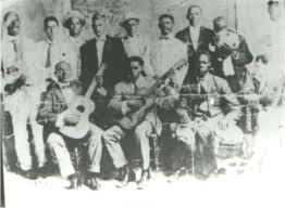 """Coro """"La Yaya"""", iniciador de la tradición."""