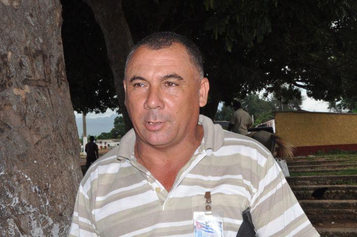 Orelbys Ortiz, presidente del Consejo Popular de Pojabo.
