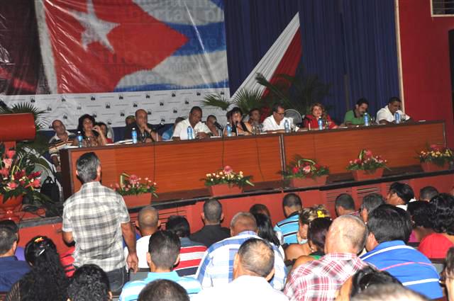 sancti spiritus, pcc, asamblea municipal del partido, partido comunista de cuba, fomento