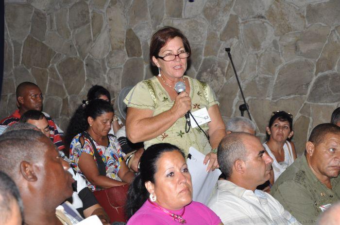 sancti spiritus, jatibonico, asamblea del partido, partido comunista de cuba, pcc