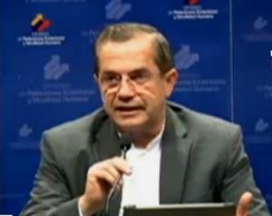 Patiño explicó que la reunión será un paso previo a un encuentro de los jefes de Estado de Colombia y Venezuela.