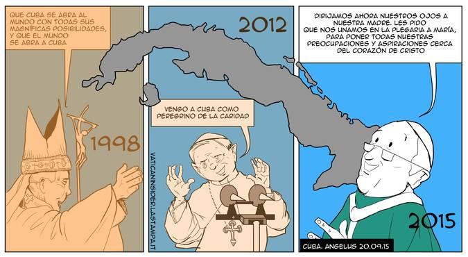 El Ángelus de Francisco (Ilustración: Vatican Insider)