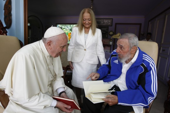 cuba, papa francisco, fidel castro