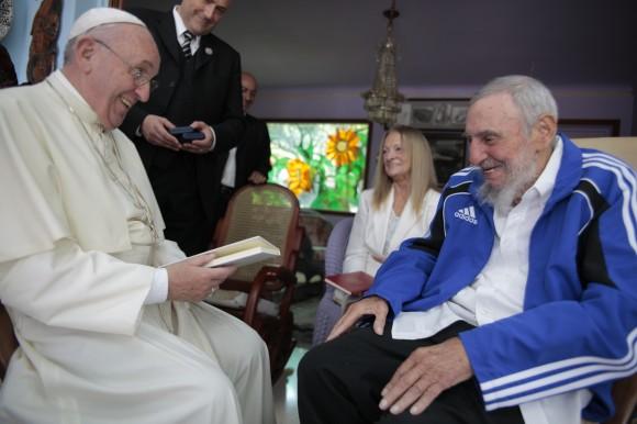 cuba, fidel castro, papa francisco