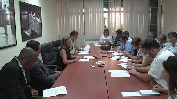 El encuentro transcurrió en un clima profesional, respetuoso y constructivo. (Foto AIN)