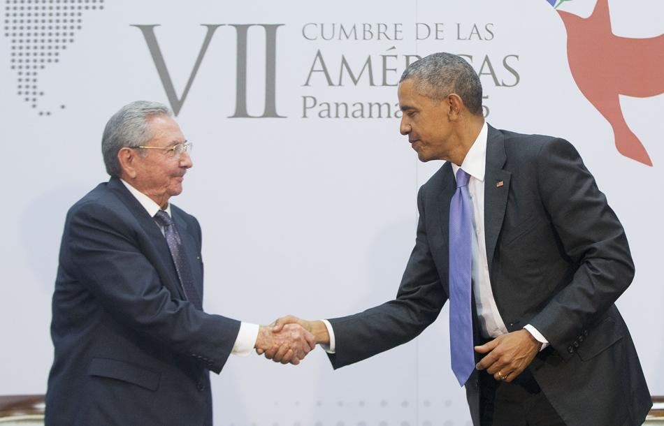 cumbre, panamá, Raúl Castro, Cuba, Barack Obama, Estados Unidos