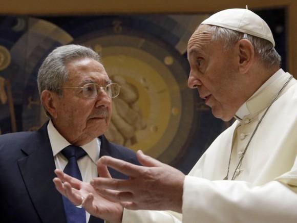 cuba, visita del papa a cuba, papa francisco, raul castro, la habana, santiago de cuba, holguin