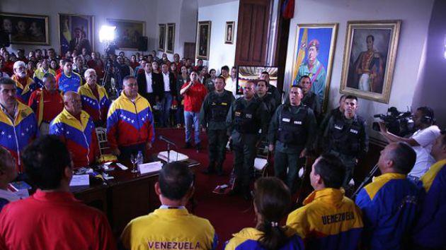 En la reunión de los diputados en Táchira, el Parlamento refrendó el decreto de estado de excepción implementado en 10 municipios de ese estado.