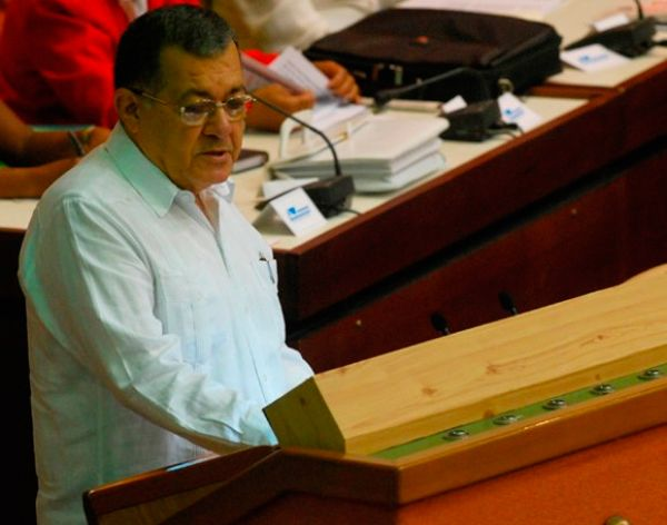 cuba, ministro de transporte, consejo de estado
