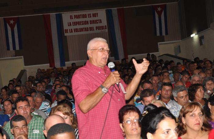 sancti spiritus, pcc, asambleas municipales del partido, partido comunista de cuba