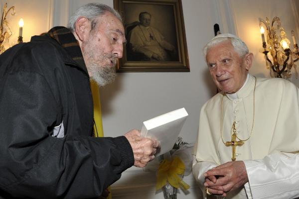 cuba, fidel castro, papa, visita del papa a cuba, santa sede, juan pablo II, papa benedicto XVI, papa francisco, papa francisco en cuba, sumo pontifice, raul castro