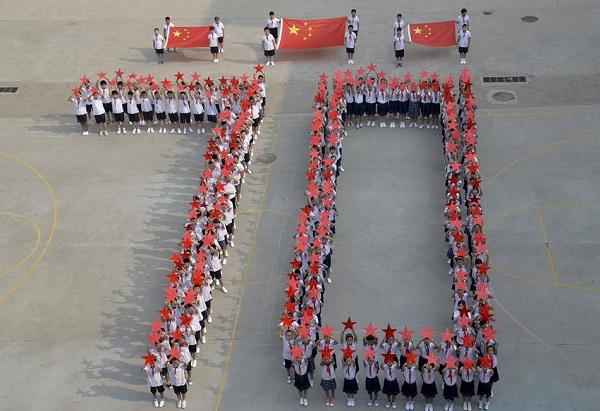 China celebra el 70 Aniversario de la Victoria del Pueblo de China en la Guerra Anti-Fascista Mundial.