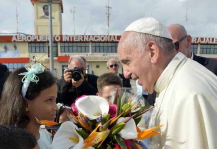 cuba, papa francisco, papa francisco en cuba, santiago de cuba, raul castro, presidente cubano, santa misa, virgen de la caridad del cobre, el cobre