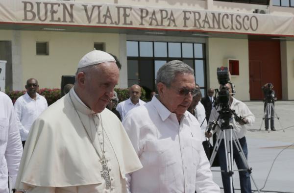 cuba, santiago de cuba, papa francisco, raul castro, aeropuerto antonio maceo, estados unidos, visita del papa a cuba, sumo pontífice, vaticano