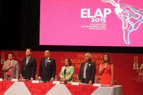 El evento congrega a los representantes de izquierda y lleva por nombre Encuentro Latinoamericano Progresista (ELAP 2015).