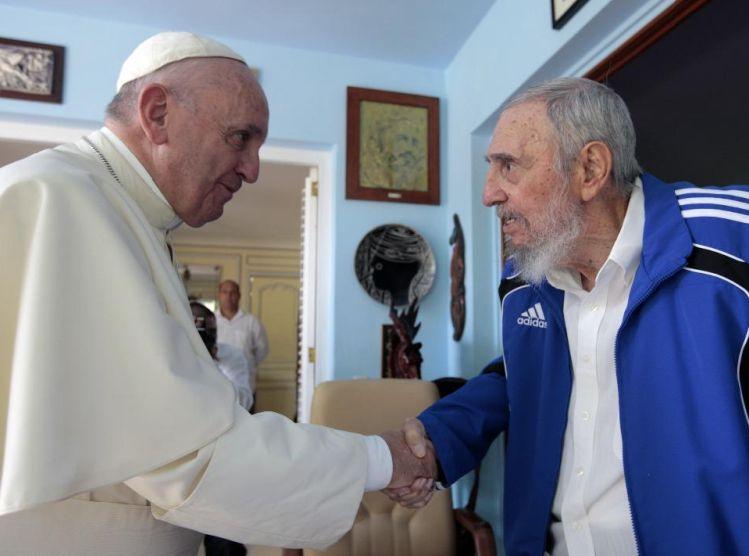 cuba, papa francisco, fidel castro, papa francisco en cuba, la habana