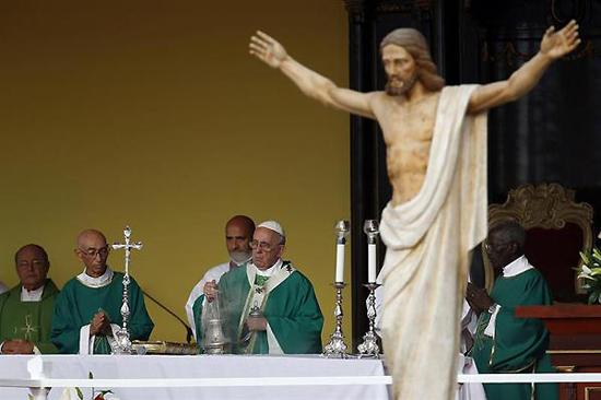 cuba, papa francisco en cuba, plaza de la revolucion, misa, vaticano, la habana