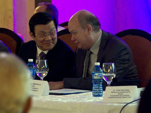 cuba, vietnam, relaciones economicas, inversion extranjera, truong tan sang