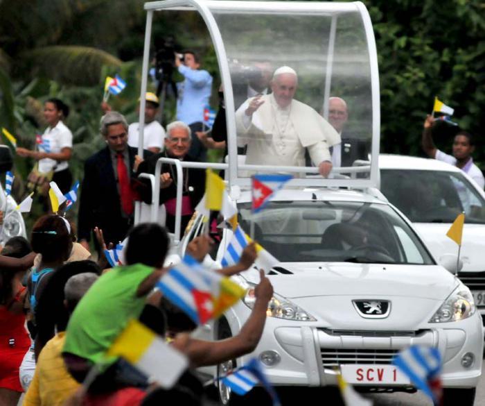 cuba, papa francisco en cuba, santiago de cuba, virgen de la caridad del cobre