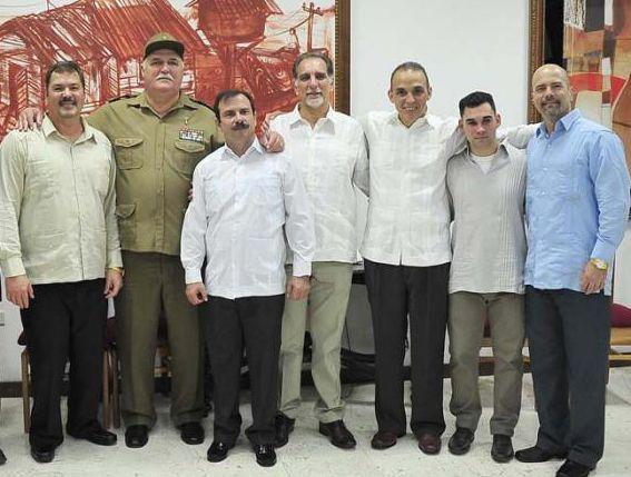 cuba, ecuador, rafael correa, los cinco, heroes cubanos,
