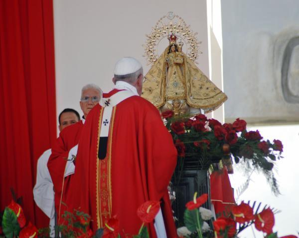 cuba, papa francisco en cuba, francisco, holguin, misa, santa misa, raul castro, vaticano