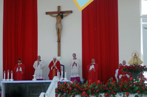 cuba, papa francisco en cuba, francisco, misa, santa misa, holguin, raul castro, vaticano