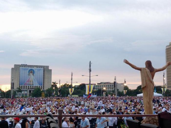 cuba, papa francisco en cuba, misa, plaza de la revolucion, vaticano, francisco, raul castro
