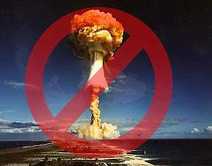 26 de septiembre, Día Internacional para la Eliminación Total de las Armas Nucleares.
