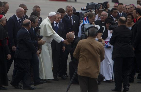 cuba, papa francisco, papa francisco en cuba, francisco, sumo pontifice, vaticano, raul castro