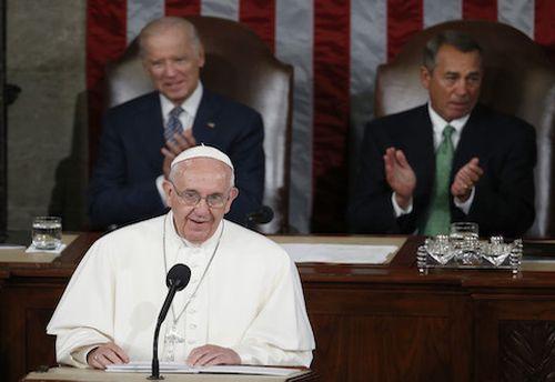 estados unidos, papa francisco, sumo pontifice, congreso de estados unidos, medio ambiente, inmigracion