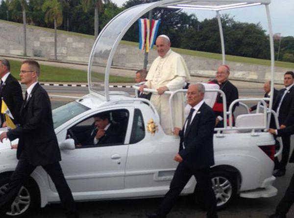 cuba, plaza de la revolucion, papa francisco, raul castro, papa francisco en cuba