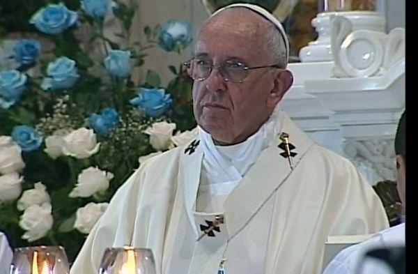 cuba, papa francisco en cuba, el cobre, santa misa, raul castro, virgen de la caridad del cobre, santiago de cuba