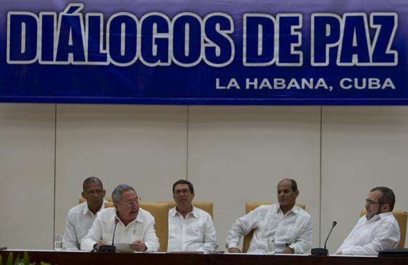 colombia, paz en colombia, farc-ep, juan manuel santos, raul castro, cuba