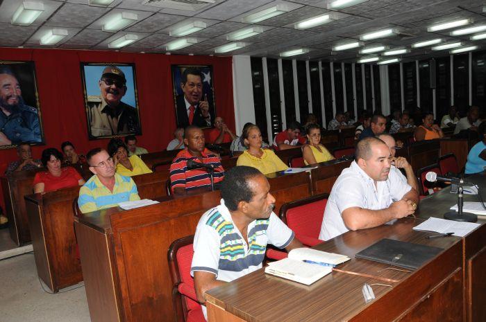 sancti spiritus, educacion en sancti spiritus, cobertura docente, pleno del comite provincial del partido