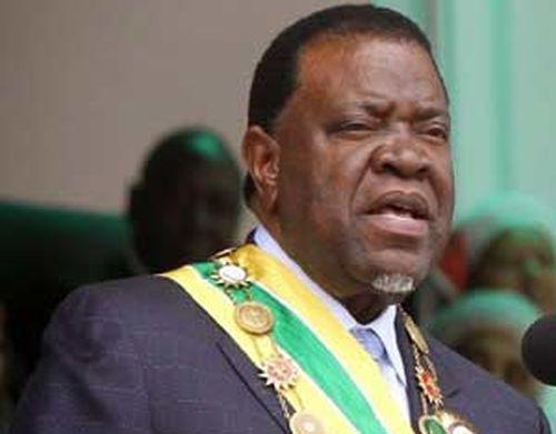 cuba, namibia, presidente de namibia