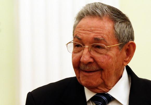 Raúl sostuvo un encuentro con un grupo de importantes empresarios estadounidenses.
