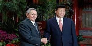 Ambos mandatarios sostuvieron un encuentro informal al concluir sus intervenciones en la plenaria de la Asamblea General.