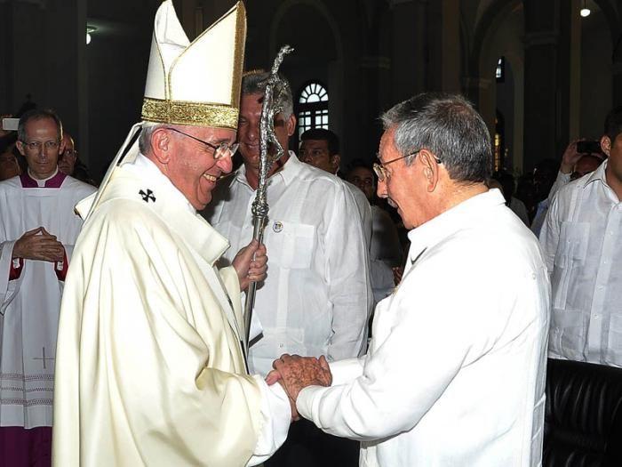 cuba, papa francisco, papa frabncisco en cuba, raul castro, sumo pontifice, vaticano