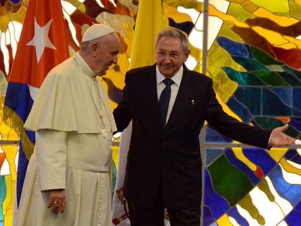 cuba, papa francisco, raul castro, santa sede, la habana, sumo pontifice