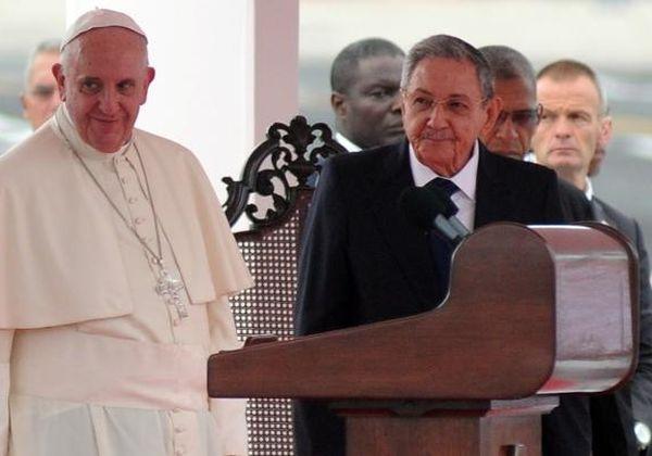 cuba, raul castro, papa francisco en cuba, francisco, vaticano, sumo pontifice