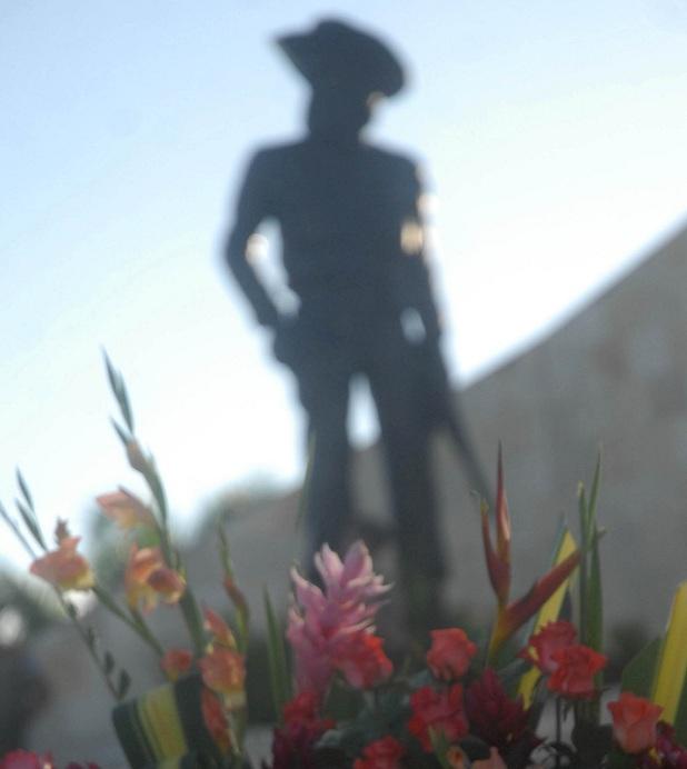 Yaguajay rinde tributo a su héroe. (Foto: Oscar Alfonso)