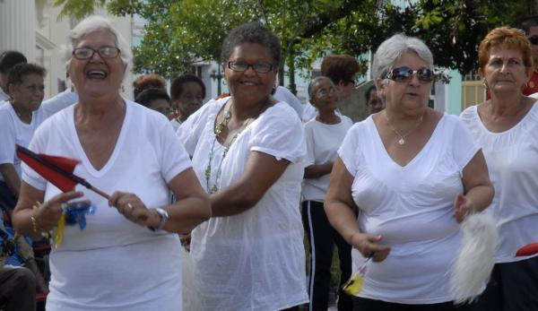 Sancti Spíritus es la tercera provincia más envejecida de Cuba. (Foto: AIN)