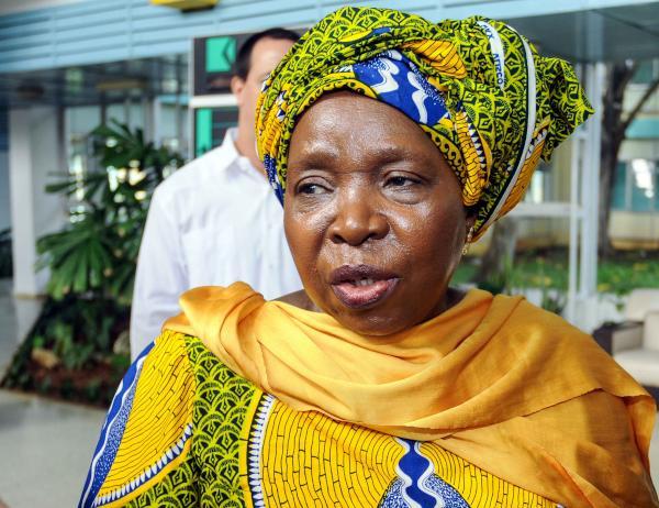 Nkosazana Dlamini-Zuma, Presidenta de la Comisión de la Unión Africana. (Foto AIN)