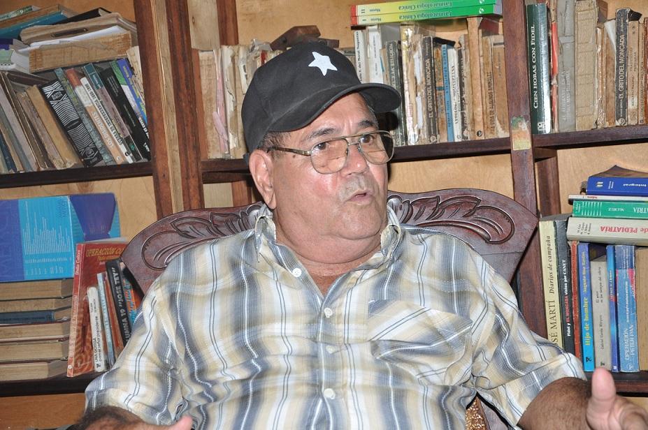 """""""Pudimos frustrar muchos planes subversivos y criminales"""", asegura Yero. (Foto: Vicente Brito)"""