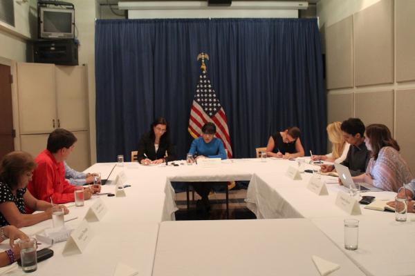 Pritzker es la segunda integrante del gabinete del presidente de Estados Unidos que visita Cuba en más de medio siglo. (Foto AIN)