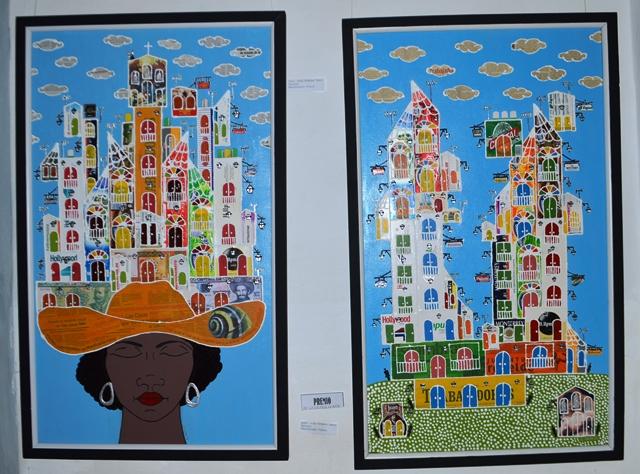 La Galería de Arte premió la obra plástica de Arístides Sáenz Sánchez. (Foto: Carlos Luis Sotolongo)