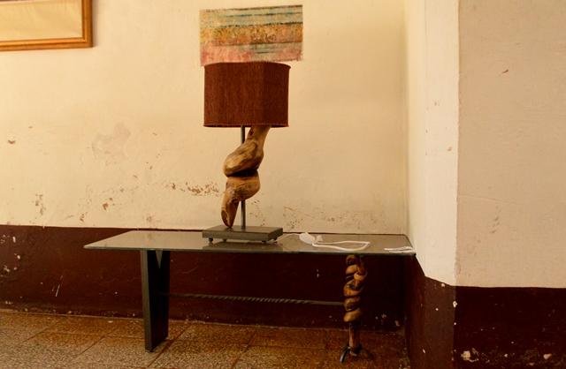 Lo utilitario y el arte se funden en la pieza de William Varela, uno de los premiados en el certamen. (Foto: Carlos Luis Sotolongo)