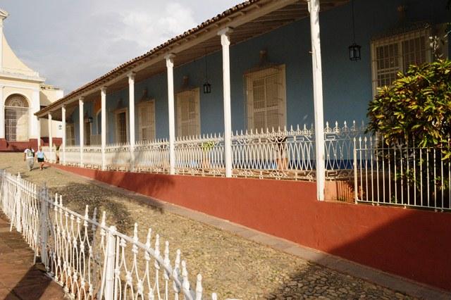 El montaje museográfico del Museo de Arquitectura, donde labora el galardonado, constituye un referente dentro de la museología cubana.