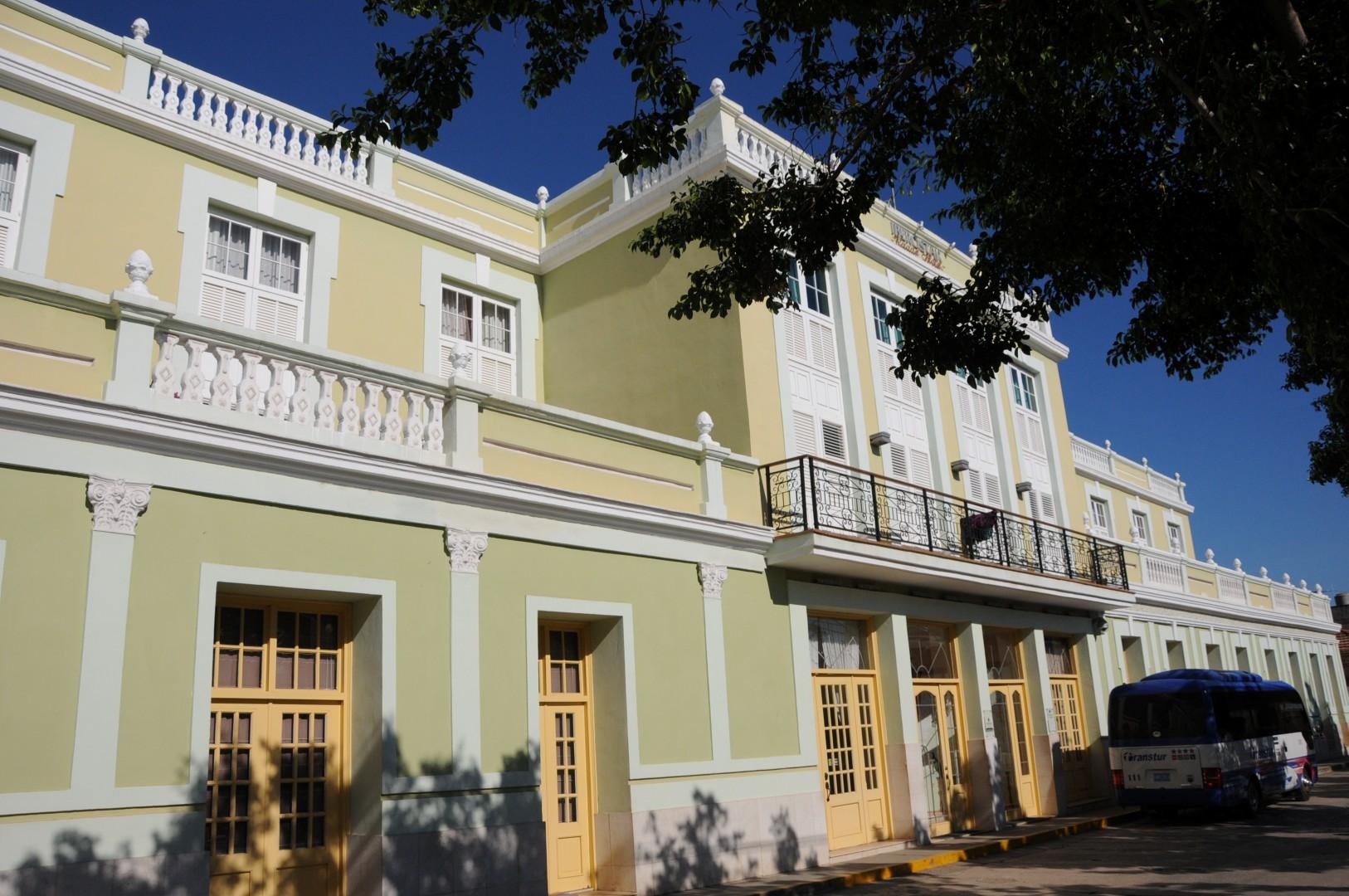 El Grand Hotel Iberostar Trinidad figura como una de las instalaciones de mayor demanda por parte de los visitantes extranjeros. (Foto: Vicente Brito)